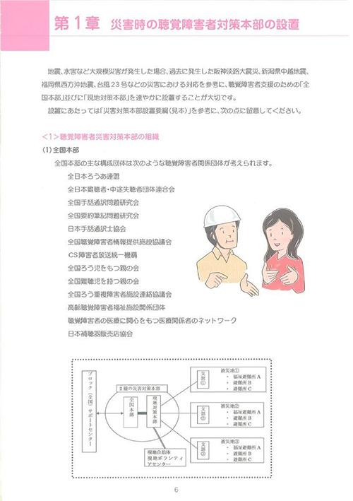 第1章 災害時の聴覚障害者対策本部の設置